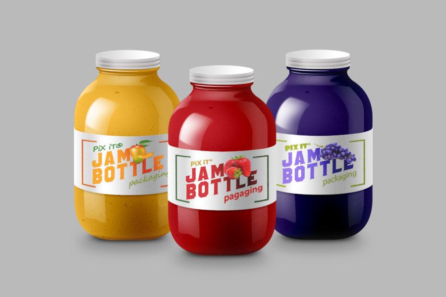 Jam-Bottle